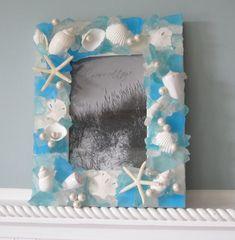 Seashell Frames for Beach Decor - Nautical Sea