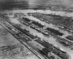 King George V and Royal Albert Docks i the late Sixties