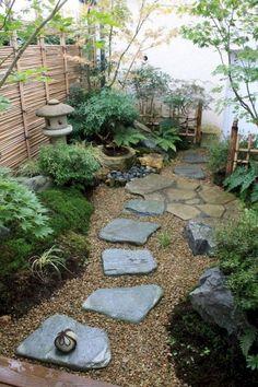 90 beautiful side yard garden decor ideas (8)