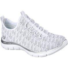 9d03be923c53 Skechers Women s Flex Appeal Insights Memory Foam Slip On Sneaker