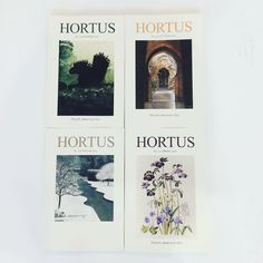 A year of Hortus would make a perfect gift for a gardener kept inside over Christmas. The best garden writing #magazineboxset #boxset #gardenwriter  #bryansground #bryansgroundpress