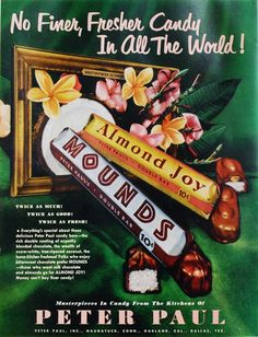 Almond Joy candy was first known as the Dream Bar. It was renamed after world II war  was over it was renamed Almond Joy.