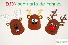 portrait de renne 3