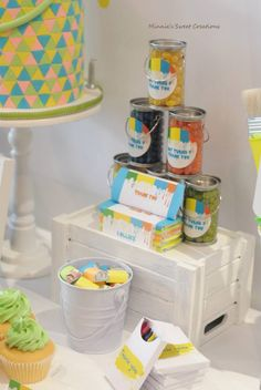 Litttle Big Company The Blog: Neon Painting Party by Minnie Sweet Creations