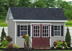 ..color combination to match barn and the house.  Change siding to yellow