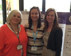 Partner @Danna Crawford with her Regional Development Director, Pamela Starr and account manager, Mindy Cohen