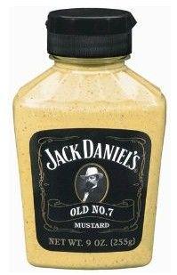 Jack Daniels Old No. 7 Mustard 9 oz.