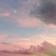 Sky. Pink.