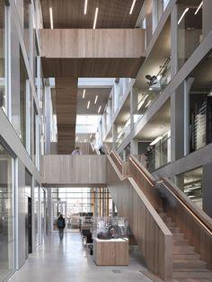 LU Engineering Building by John McAslan: see Deerfield interiors on UTM Campus by me (sim)