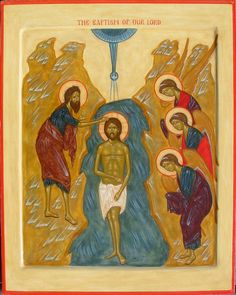 Holy Baptism / Theophany by Ann Margitich