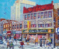 Résultat d'images pour tanobe Cartoon Art Styles, Canadian Art, Portraits, Urban Landscape, Quebec, 21st Century, Les Oeuvres, Illustration Art, Illustrations