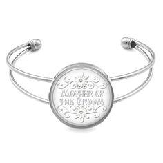 Mother Of The Groom Wedding Bracelet Bangle Cuff Bracelet Wedding Jewelry Glass Bezel Art Photo Bracelet JP3585