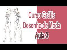Curso Grátis - Desenho De Moda - Aula 3 - Croquis e Posições