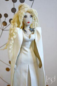 Daenerys Targaryen Game of Thrones Rag Doll by LocoGlam on Etsy