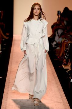 edgy and flowy: angelic angles from BCBG