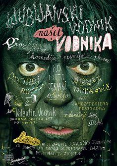 Radovan Jenko. Slovenia  BICeBé 2017 Graphic Design, Movies, Movie Posters, Bolivia, Board, Slovenia, Posters, Films, Film Poster