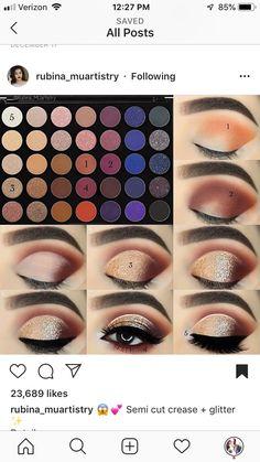 (notitle) (notitle) Style and Stuff Paleta Morphe, Morphe Eyeshadow, Makeup Morphe, Morphe Palette, Eye Makeup Steps, Makeup Eye Looks, Smokey Eye Makeup, Smokey Eyeshadow, Makeup 101