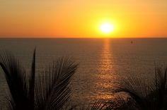 Sunset at playa flamingo, guanacaste Costa Rica.