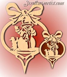 Scroll Saw Patterns :: Holidays :: Christmas - Wood Ornaments, Diy Christmas Ornaments, Rustic Christmas, Xmas, Scroll Saw Patterns, Scroll Design, Wooden Wreaths, Snowman Wreath, Beaded Flowers