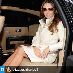 #repost You can ride in style like @elizabethhurley1 too.  Find out how you could be traveling in a Rolls Royce this weekend. Link in bio!