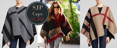 SJP Knock-Off Wool Cape Tutorial | Sew Mama Sew | Outstanding sewing, quilting, and needlework tutorials since 2005.