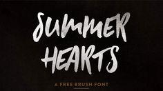 14 top free brush fonts - por Creative Blog