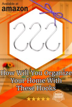"""Free Your Drawers From Clutter And Use These Hooks. Exclusive Sale! Save $5 Off Using Coupon Code """"PNTSV522"""" On Amazon"""