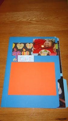 Personal scrapbooks for each child at the end of the year