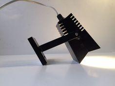 Vtg 1970s Black Danish Minimalist Wall Lamp Mid Century Louis Poulsen AJ PH era : https://www.ebay.com/itm/263548395060