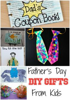 Father's Day DIY Gifts From Kids
