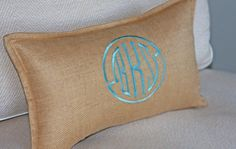 I think the monogram trend is borderline narcissistic right now, but I love this style!