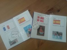 Create a play passport for kids travel adventures