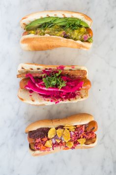 Try these delicious and easy-to-make vegan hot dog toppings on vegan hot dogs this summer. I used Lightlife to create a tasty and healthy treat!
