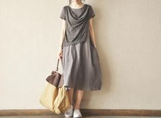 Two-piece Dress--Max Size Linen Women Tops Loose Blouse Sleeveless Linen Long Dress- Women Clothing on Etsy, £42.14