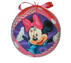 Minnie Mouse Christmas Holiday Handmade Ornament by craftcrazy4u, $14.95