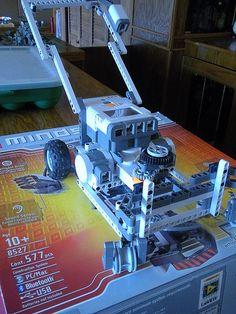NXT Robotics Lawn Mower by HarmonyArtMom, via Flickr