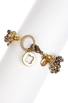 Cutout Charm Bracelet by mariechavez on @HauteLook