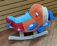Check out this plush rocking airplane we just got in! ($10) #gentlyused #buysellrepeat #baby #infants #toddlers #fayettevillemoms #fortbraggnc #fayettevillenc #children #kids #onceuponachildfayettevillenc Infants, Airplane, Toddlers, Plush, Toys, Children, Check, Baby, Young Children