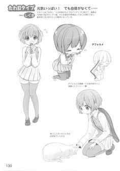 Manga poses