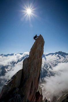 L'alpinisme pur - Crédit : Marie Murillon