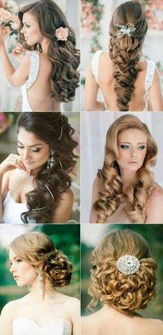 Pretty hair ideas for long hair.