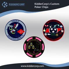 Custom Designed #PokerChips for the #USNavy.   Visit: www.kiddercorp.com  #USArmyPokerChips #MilitaryPokerChips #NavyPokerChips # armypokerchips #poker #pokerchips #pokerface #pokerlife #chipstack #pokertime #onlinepoker