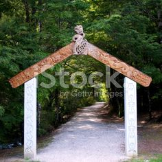 Gateway to the Riwaka Resurgence Walkway, NZ royalty-free stock photo Abel Tasman National Park, Kiwiana, New Zealand Travel, Turquoise Water, South Island, Travel And Tourism, Walkway, Image Now, National Parks