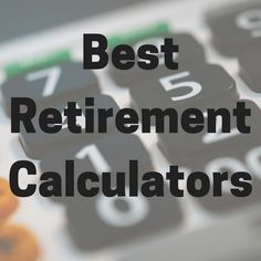 What is the best retirement calculator? - Counting My Pennies Early Retirement, Retirement Planning, Financial Planning, Retirement Cards, Pension Plan, Pension Fund, Retirement Strategies, Finance Tips, Calculator