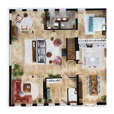 Indelings- en kleurenplan voor mijn klant. Wil JIJ ook veranderingen in je huis, maar je weet niet hoe? Check mijn website STYLING22.nl voor meer inspiratie en informatie. #kleurinspiratie #plattegrond #indeling #woonkamer #livingroom #interiordesign #interior #interieur #interieurontwerp #slaapkamer #bedroom #keuken #kitchen #floorplan #markers