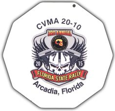 This is a sample of a Full Color Digital Print Motorcycle Coaster®. This is one we printed for the Combat Veterans Motorcycle Association, Chapter 20-10.  Check them out at CombatVet.org. The Motorcycle Coaster® is sometimes referred to as a kickstand pad, kickstand plate, side stand pad, side stand plate, or puck.   It is specifically designed as a motorcycle kickstand support aide for soft surfaces and is designed for your custom printed message.