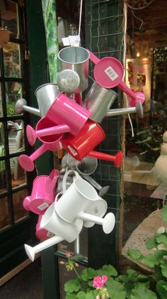 Watering cans, Paris shop