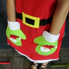 Cheap apron child, Buy Quality women frock directly from China aprons logo Suppliers: 2pcs/lot Size:the apron with santa clause ,snowman patterns ,size62*83cm    &nbsp