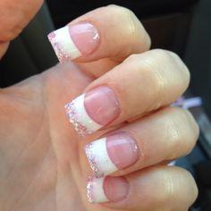 pretty...love the glitter tips