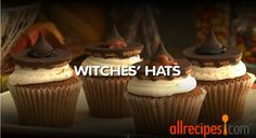 #Halloween Recipes - How to Make Witches' Hats